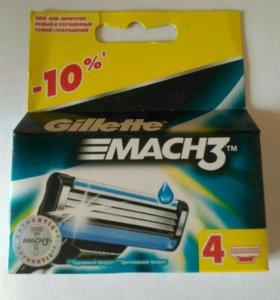 Кассеты Gillette MACH3 4 шт