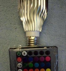 Лампа с пультом. 💡