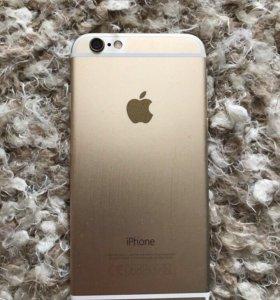 iphone 6 gold на 16гб