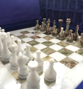 Шахматы Оникс и Мрамор