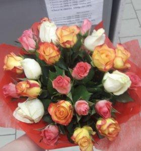 Круглосуточная бесплатная доставка цветов и шаров