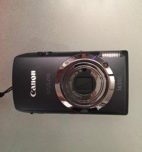Фотоаппарат Canon ixus 210
