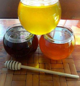 Мёд натуральный, продукты пчеловодства.