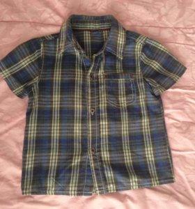 Рубашка на 2-3года