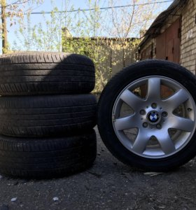 BMW Star Spoke Style 205/55 R16, резина Michelin