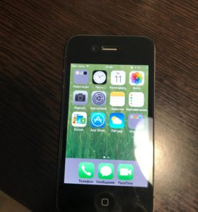 iPhone 4, 8 Gb (черный)