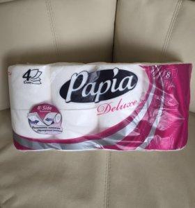 Туалетная бумага PAPIA 4 сл