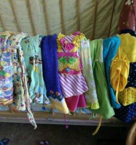 Платья для дома деревни с 1 до 1,5 лет