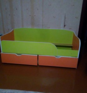 Кровать детская. Сделана на заказ. 70×1700