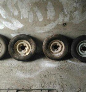 Колеса с Волги 205/70 R14