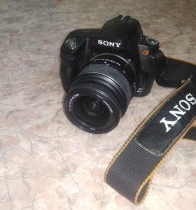 Зеркальный фотоаппарат Sony dslr-A290 Kit 18-55