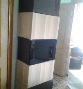 Шкафы универсал сдверями икея новые   Бесто