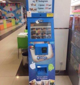 Автомат для моментальной распечатки фото