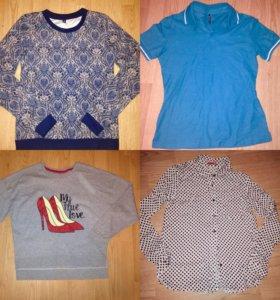 Новые вещи:поло, рубашка и кофты