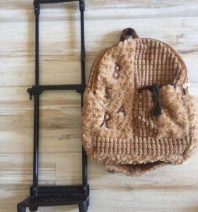 Чемодан-рюкзак Детский