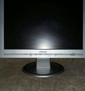 LCD монитор 17 диаг.для пк компьтера Б/У