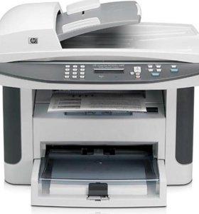 МФУ НР 1522 принтер/сканер/копир