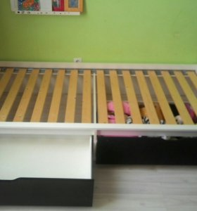 Кровать икея с ящиками