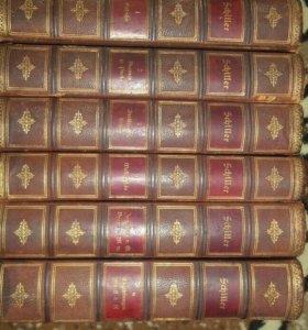6томов издания шилер 1885г