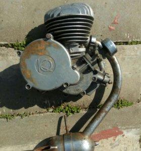 Мотор Д-6 б/у.