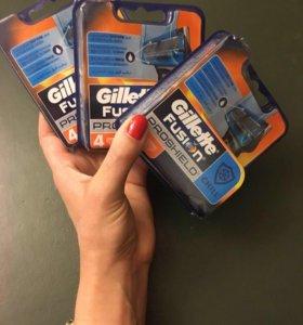 Сменные кассеты для мужской бритвы Gillette (4 шт)