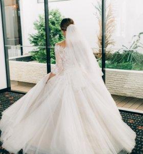 Роскошное свадебное платье sovanna