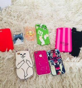 Чехлы на iPhone 4/4s/5/5s/SE/6plus