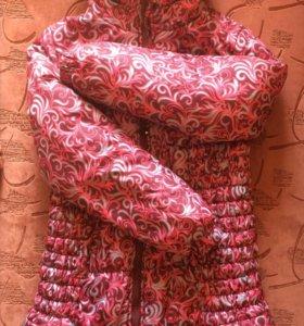 Удлиненная зимняя куртка для беременных