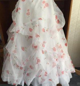 Выпускное платье свадебное платье