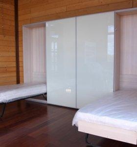 Гостинная с шкаф - кроватими