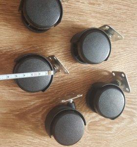 колеса ножки для мебели 5 шт