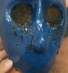 Самодельная маска плачущего Джека