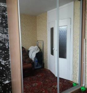 Шкаф купе с зеркальными дверьми