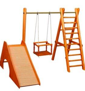 Детские спорт. комплексы для квартиры Все цвета