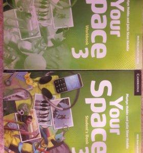 Рабочая тетрадь и учебник your space 3