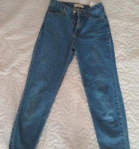 Мом джинсы, mom, бойфренды
