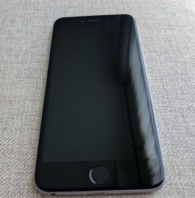iPhone 6 Plus, space gray