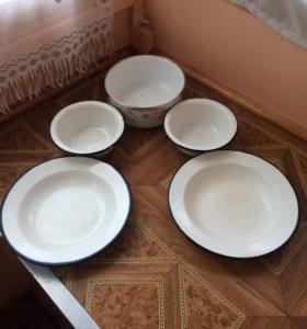 Посуда эмалированная