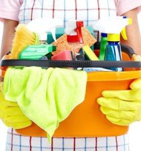 Уборка квартир,домов,офисов,глажка