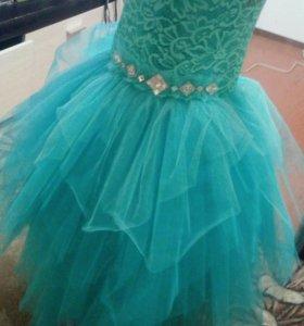 Пышное платье на выпускной!!