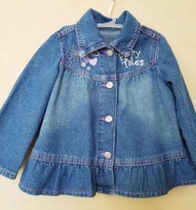 Рубашка джинсовая размер 92-98