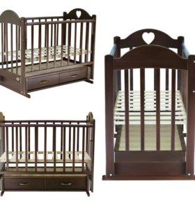 Детская кровать+ бортики в подарок