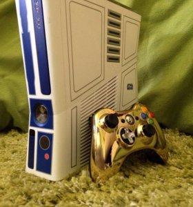 Игровая приставка Xbox360 320гб Star Wars + Kinect