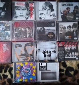 """CD и DVD диски группы """"U2"""""""