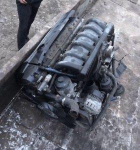 Двигатель BMW M52b20 e36 e39 с навесным