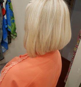 Стрижка, окрашивание, укладка, косы, прическа
