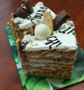 Торт Карамельная фантазия