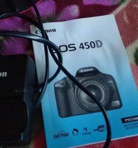 Фотоаппарат Canon 450d