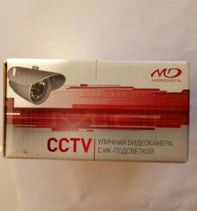 Уличная видеокамера с ик-подсветкой cctv