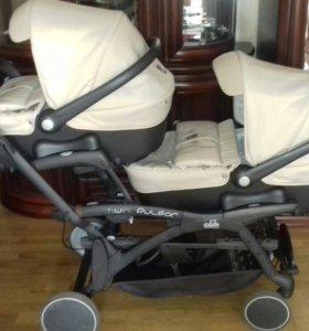 коляска для погодок и двойни Cam Twin Pulsar